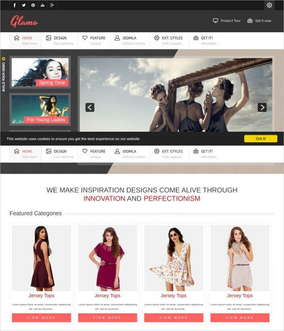 20+ Retail Website Themes & Templates | Free & Premium Templates