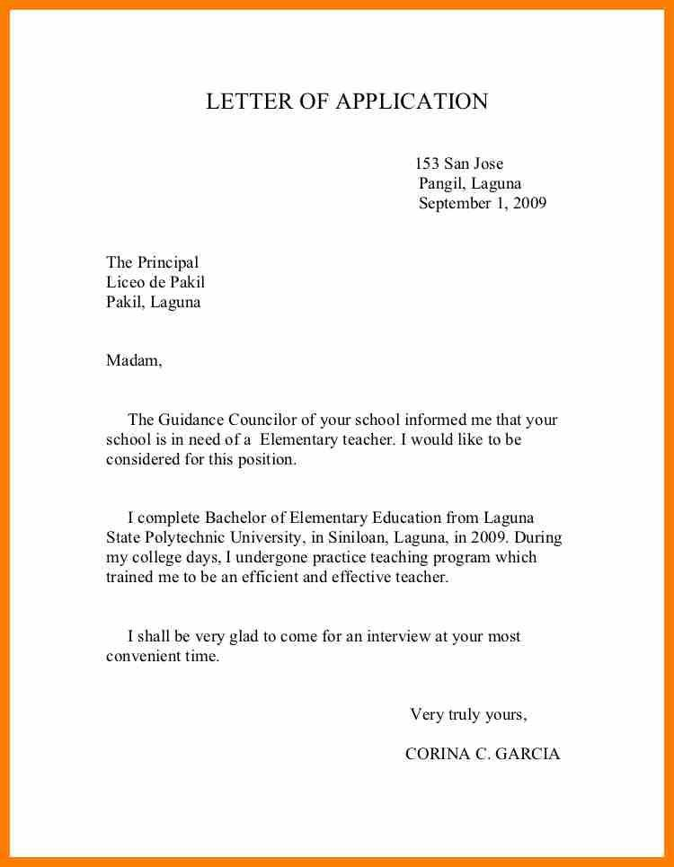 7+ formal letter to principal | science-resume