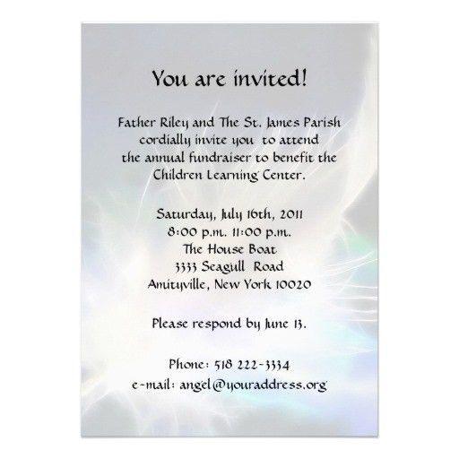 Political Fundraiser Invitation Template - Invitation Template