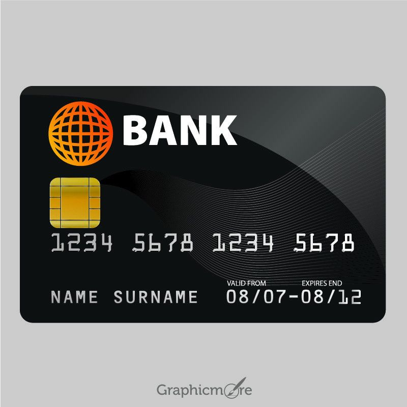 Sample Credit Card Design Free Vector File Download