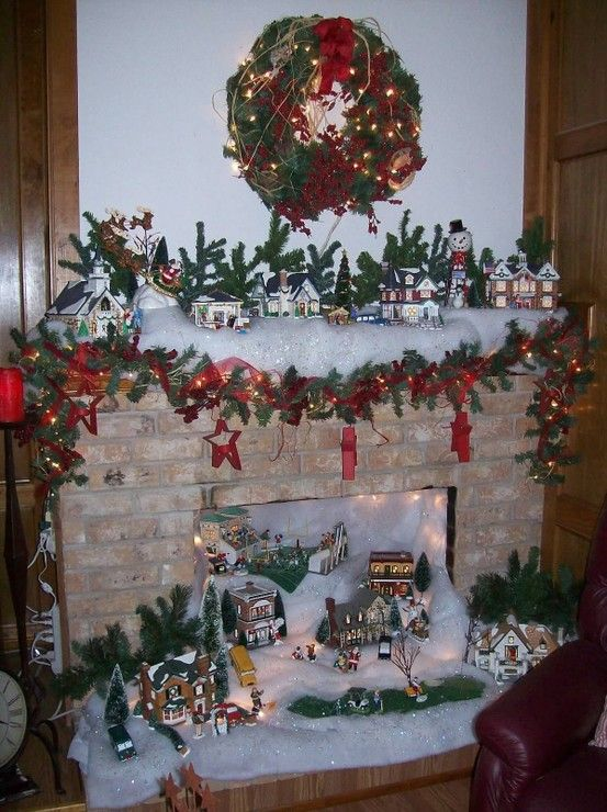 1000 images about ceramic christmas villages on pinterest for Decoration 56