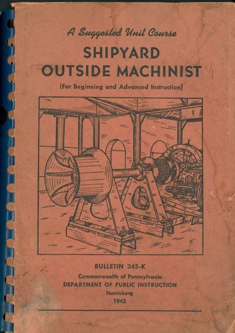 SHIPYARD OUTSIDE MACHINIST