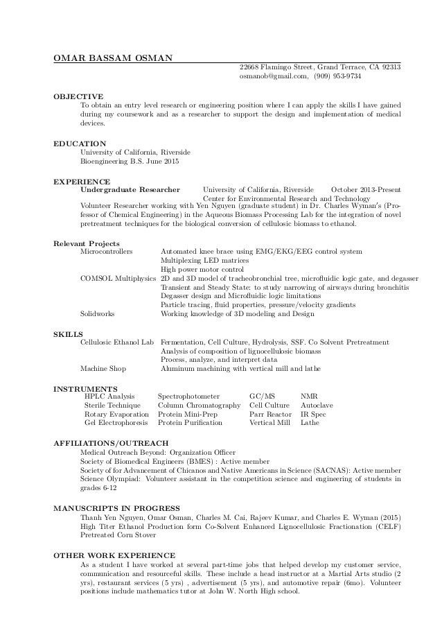 072715 Medical Device Resume