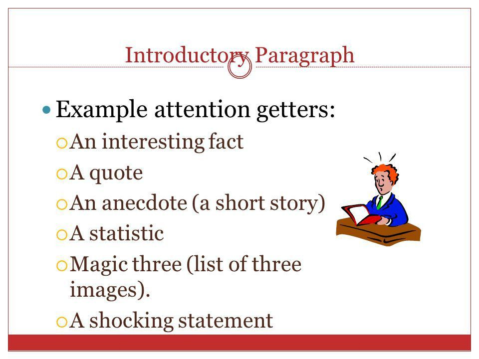 ENGLISH 9A Writing a paper: Introductory paragraphs. - ppt download