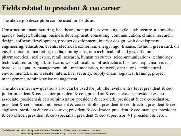 job description of ceo executive assistant to ceo job description ...