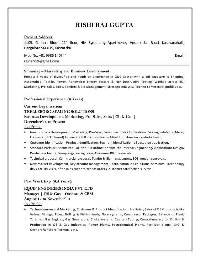 Resume - new format