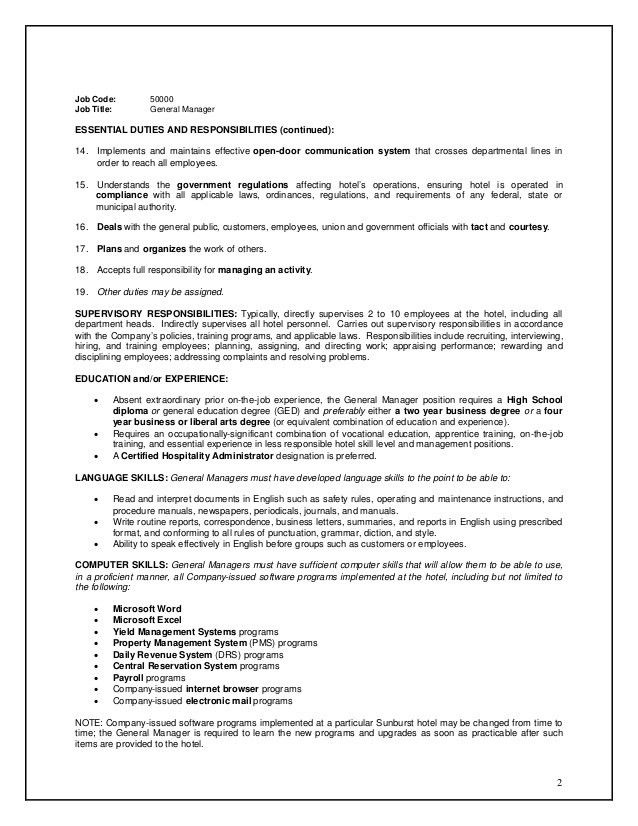 Maintenance Director Job Description. Printable Maintenance . Nice Ideas