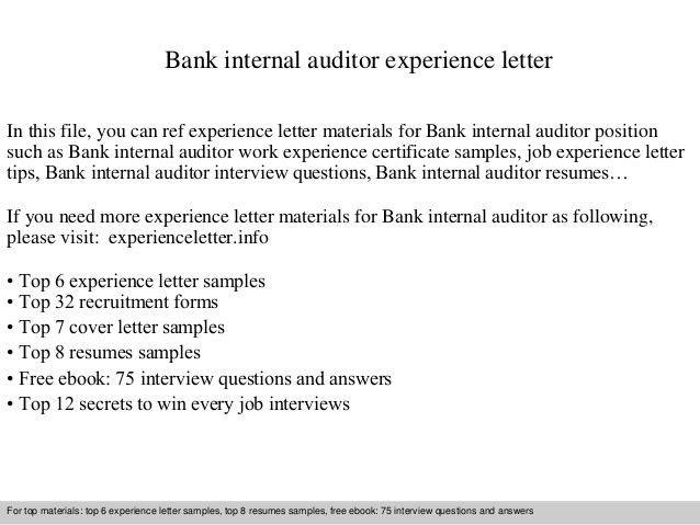 senior internal auditor cover letter sample. sales cover letter ...
