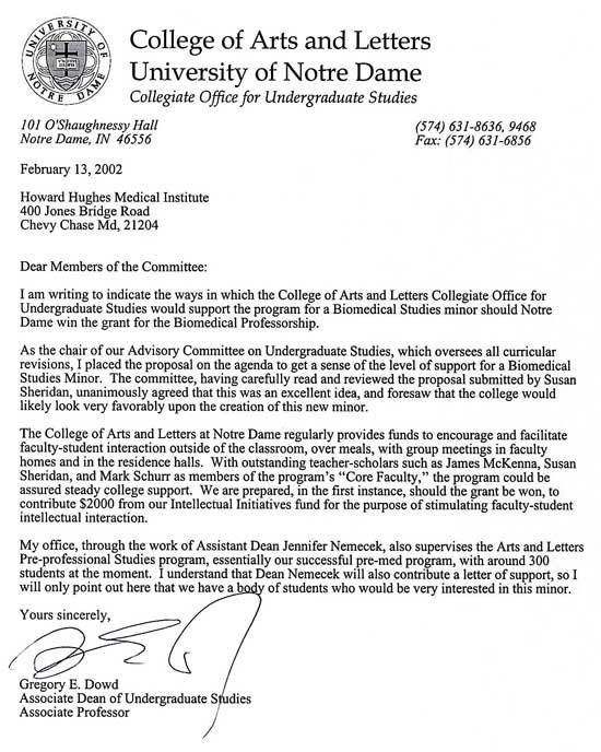 College Admission Recommendation Letter Template - Compudocs.us