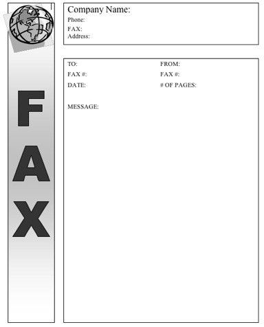 Global Fax Cover Sheet at FreeFaxCoverSheets.net