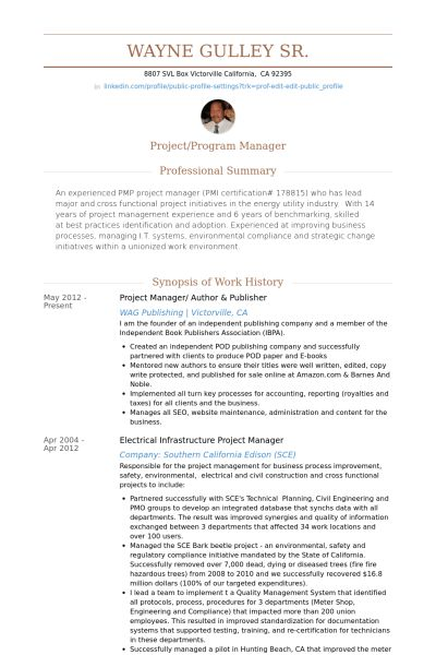 Author Resume samples - VisualCV resume samples database