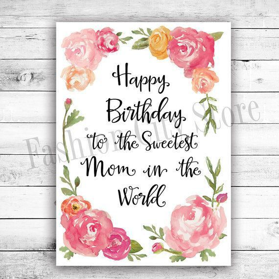 Best 25+ Birthday cards for mom ideas on Pinterest | Mom birthday ...