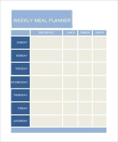 Daily Agenda Printable Template