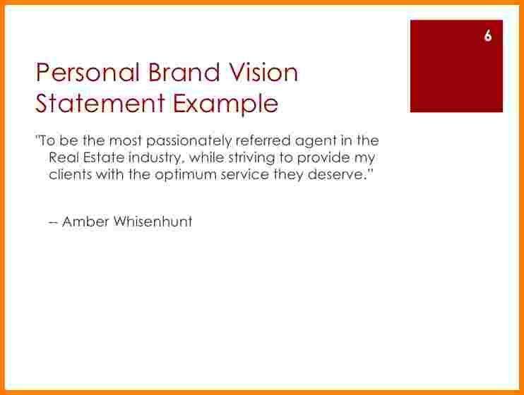 Personal Brand Statement. 2+ Best Personal Branding Statements 2+ ...