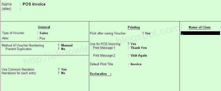 How to Create Multiple Payment POS Invoice in Tally ERP
