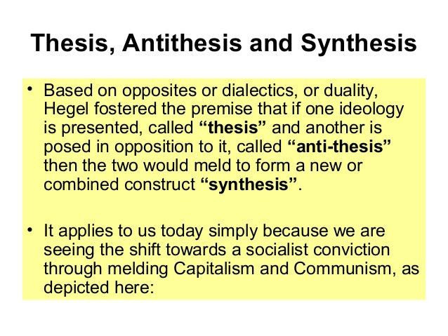 Thesis Antithesis Synthesis Essay Outline - Essay for you
