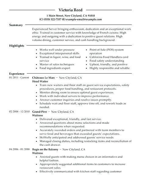 Housekeeping Resume Objective Resume Examples For Housekeeping ...