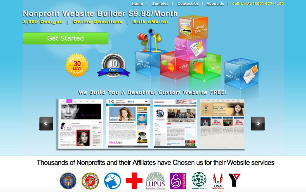 The Top 12 Nonprofit Website Builders (No Tech Skills Required ...