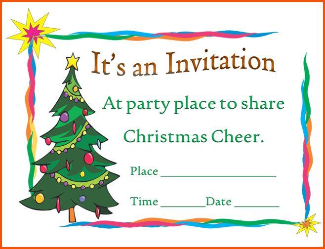 13+ christmas invitation template | Survey Template Words
