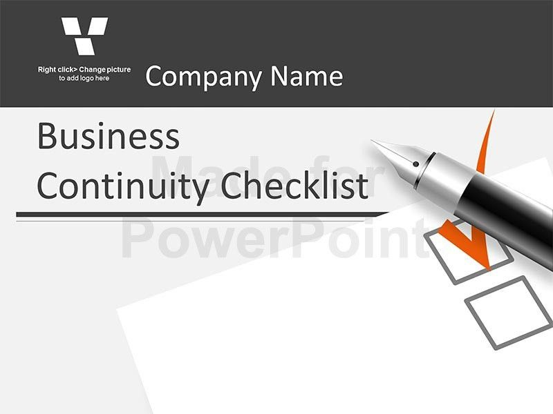 Sample Business Continuity Plan. The Cost Of Not Having A Business ...