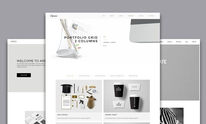 Best Creative Business Portfolio Adobe Muse Templates