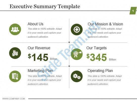 Executive Summary Template Powerpoint. best powerpoint templates ...