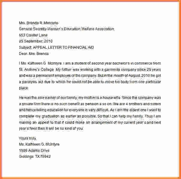 7+ financial aid appeal letter examples - Sales Report Template