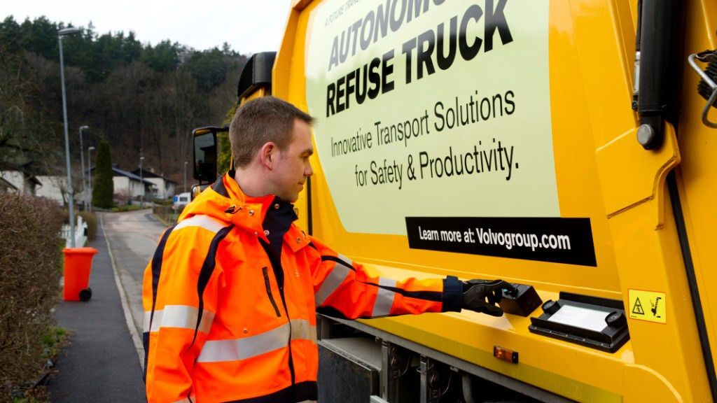 Why Volvo's self-driving garbage truck spends most of its time in ...