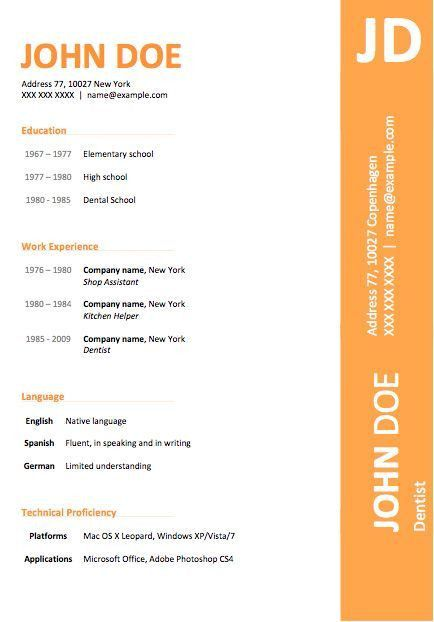 microsoft word resume layout microsoft download resume ms word ...