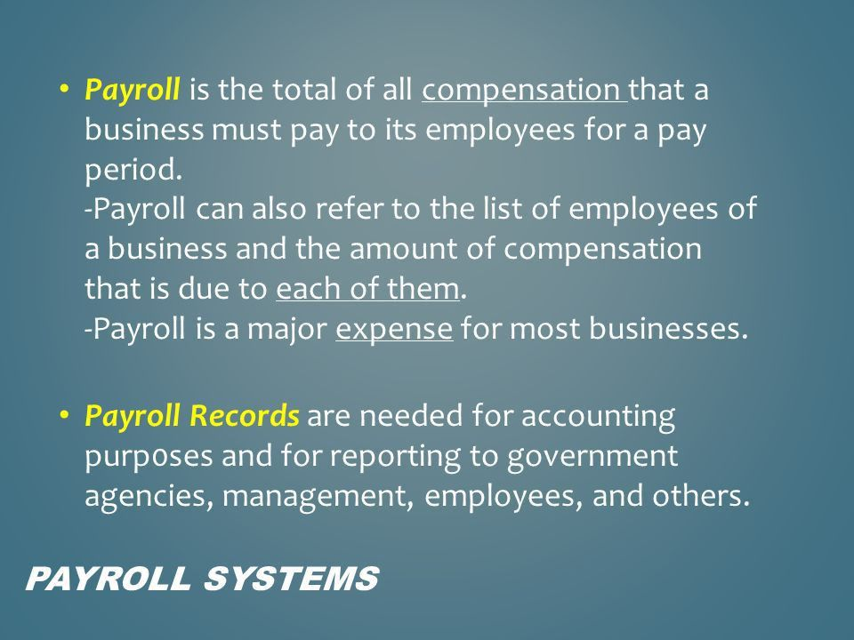 Chapter 12 Payroll Accounting - ppt download