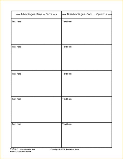4+ t chart template | Ganttchart Template