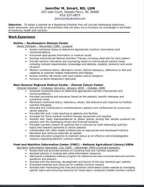 dietary technician resume dietary aide resume sample dietary