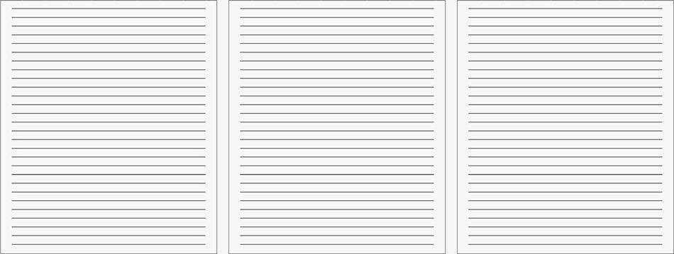 Lined Notetaking Paper | Carbonless.com