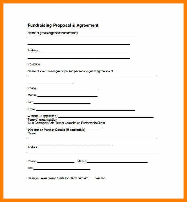 11+ sample fundraising proposal | science-resume
