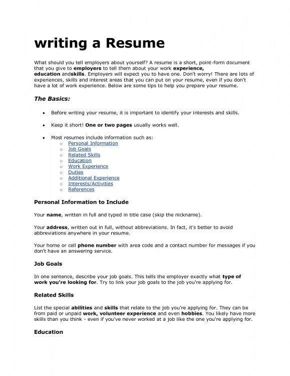 Fanciful What To Put On A Resume 2 30 Best Examples Of What Skills ...
