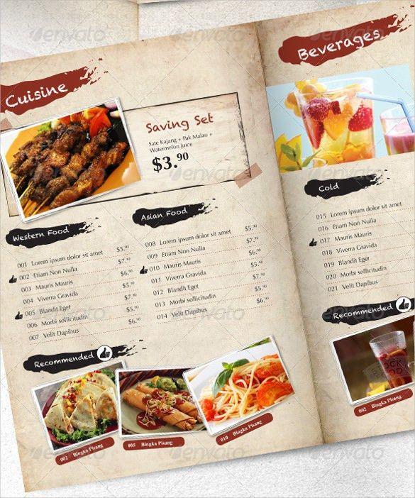 21+ Price Menu Templates – Free Sample, Example Format Download ...