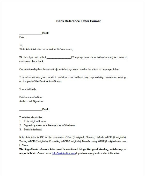 Format Of A Letter To Bank - Compudocs.us
