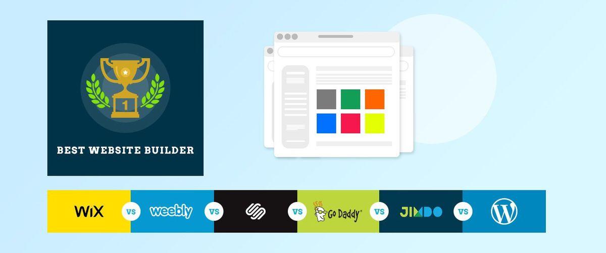 Wix Vs Weebly Vs Squarespace Vs GoDaddy Website Builder Vs Jimdo ...
