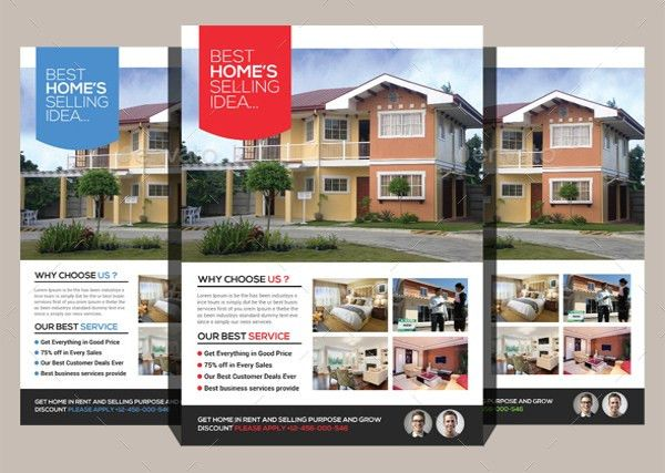 Real Estate Flyers – 22+ Free PDF, PSD, AI, Vector EPS Format ...