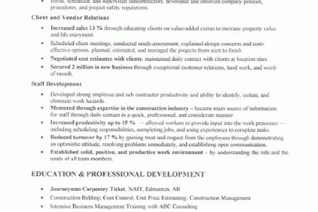 of Estimate Letter Template Estimate Business Cover Letter ...