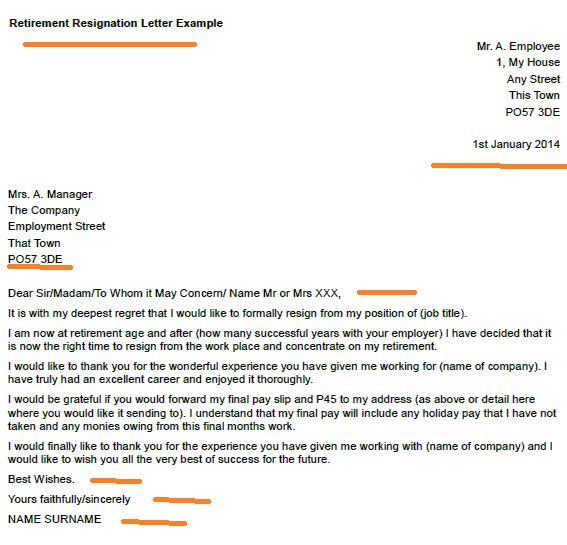 Resignation Letter Format: Concern Successful Years Sample ...