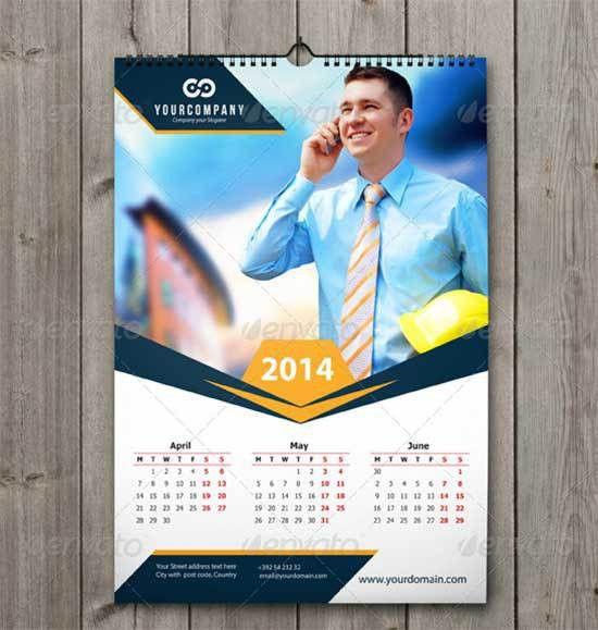 35+ Best Free 2014 Calendar Template - Free Download - freshDesignweb