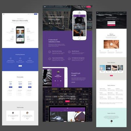 Free Divi Theme Templates! Web Page And Website Templates | Real ...