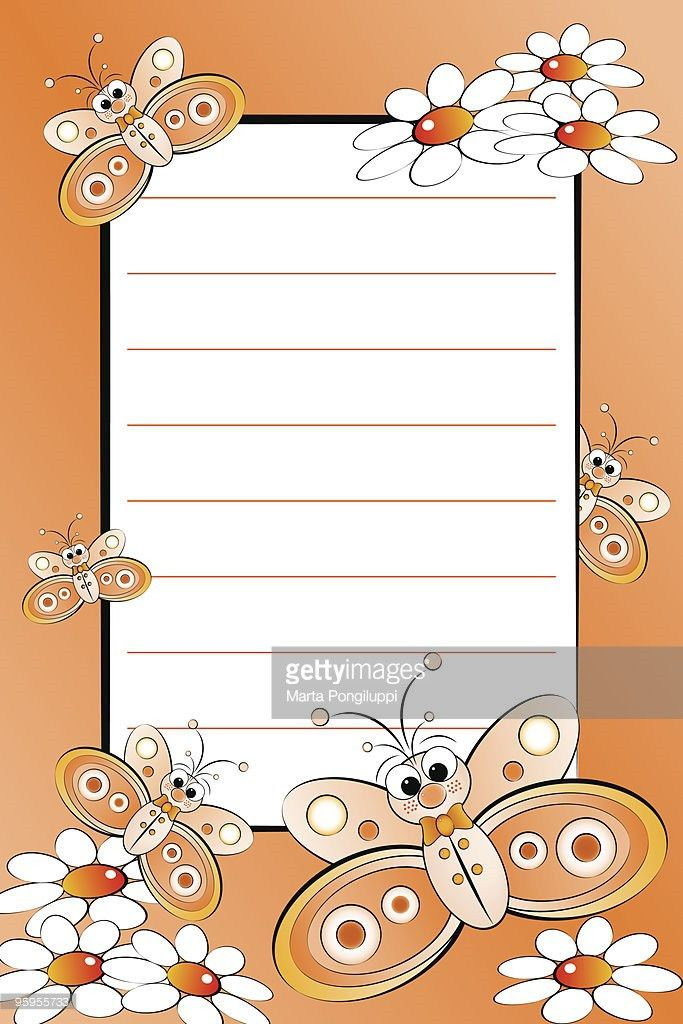Kid Notebook With Blank Lined Page Vector Art | Thinkstock