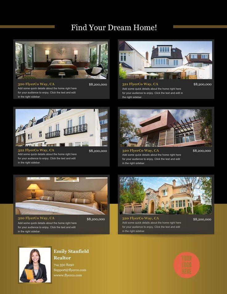 55 best Real estate flyer layouts images on Pinterest   Flyer ...