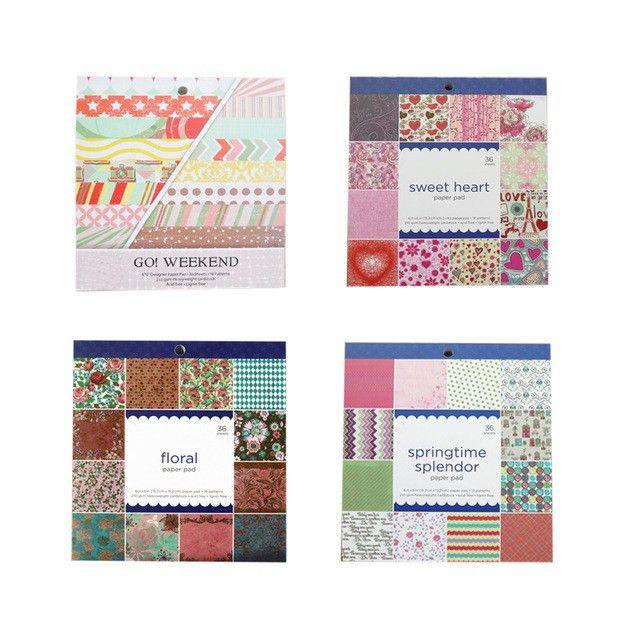 Aliexpress.com : Buy 6inch Scrapbook Photo Album Decoration Thick ...