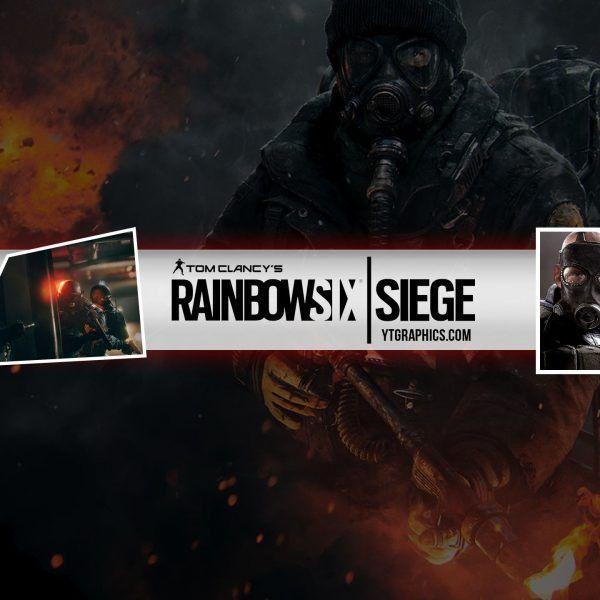Rainbow Six Siege – Youtube Channel Art Banners regarding Youtube ...