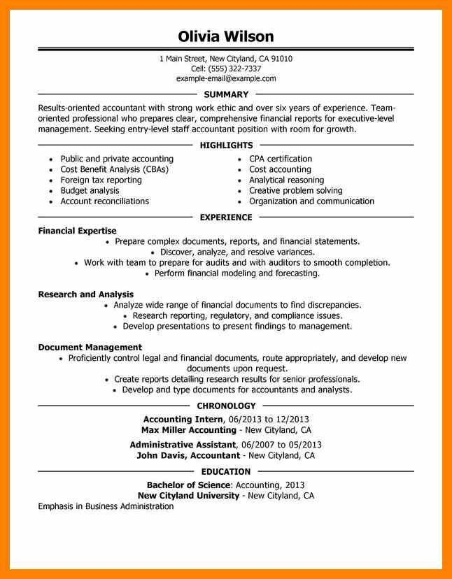 8+ sample accounting resume | rn cover letter