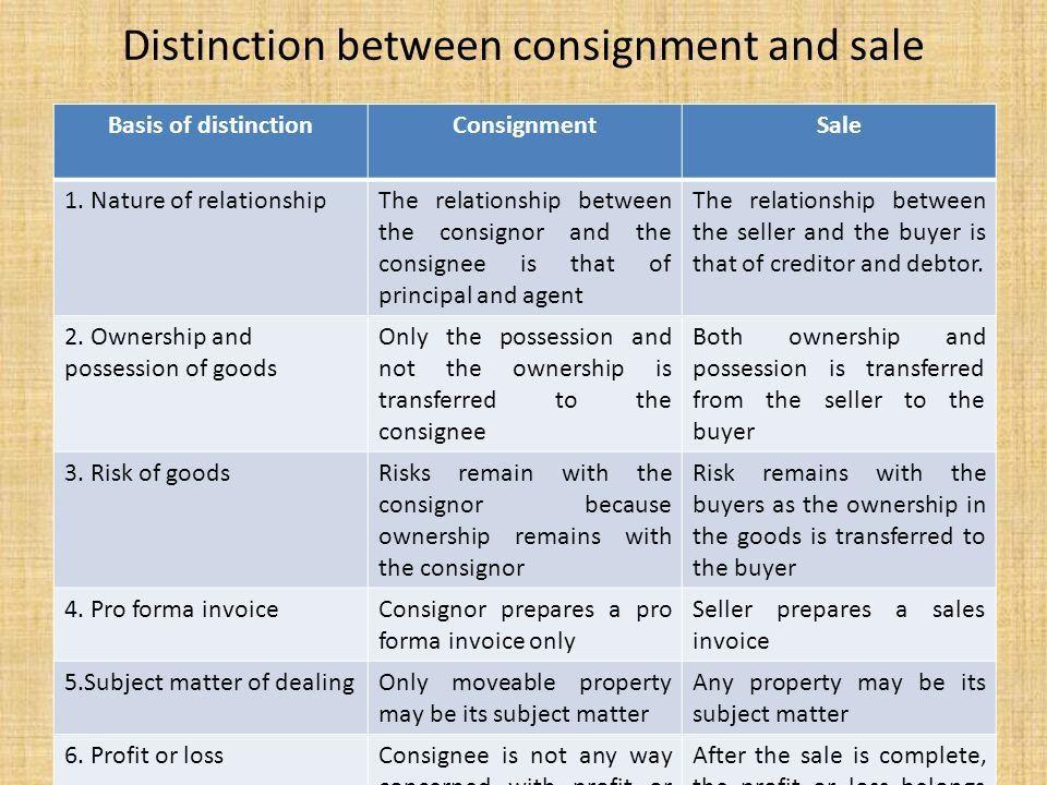 Consignment Legal Definition - cv01.billybullock.us