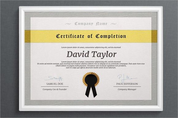8+ Examples of Certificate of Completion